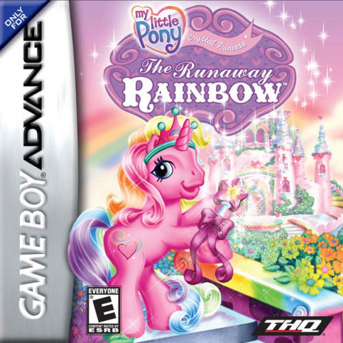 My Little Pony Crystal Princess - The Runaway Rainbow (U)(Rising Sun) Box Art