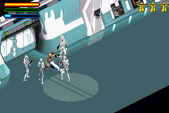 Star Wars - Jedi Power Battles (U)(Eurasia) Snapshot