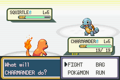 Pokemon Fire Red (U)(Squirrels) Snapshot