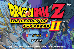 2 in 1 - Dragon Ball Z - The Legacy of Goku I & II (U)(Rising Sun) Snapshot