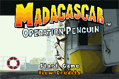 2 in 1 - Madagascar Operation Penguin & Shrek 2 (U)(Sir VG) Snapshot