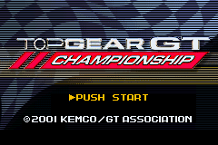 Top Gear GT Championship (U)(Independent) Title Screen