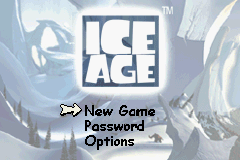 Ice Age (E)(Patience) Title Screen