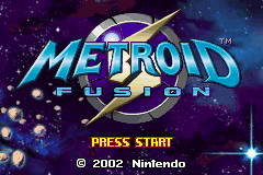 Metroid - Fusion (U)(GBANow) Title Screen
