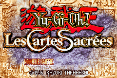 Yu-Gi-Oh! - The Sacred Cards (E)(Rising Sun) Title Screen