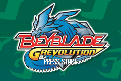 Beyblade G-Revolution (U)(Venom) Title Screen