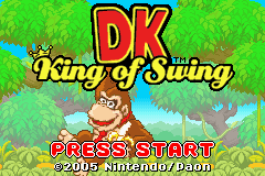 DK - King of Swing (U)(Independent) Title Screen