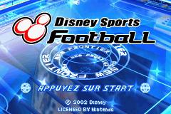 2 in 1 - Disney Sportpack (E)(Rising Sun) Title Screen