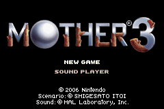 Mother 3 (J)(WRG) Title Screen