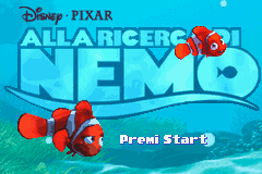 2 in 1 - Finding Nemo & Finding Nemo - The Continuing Adventures (E)(Independent) Title Screen