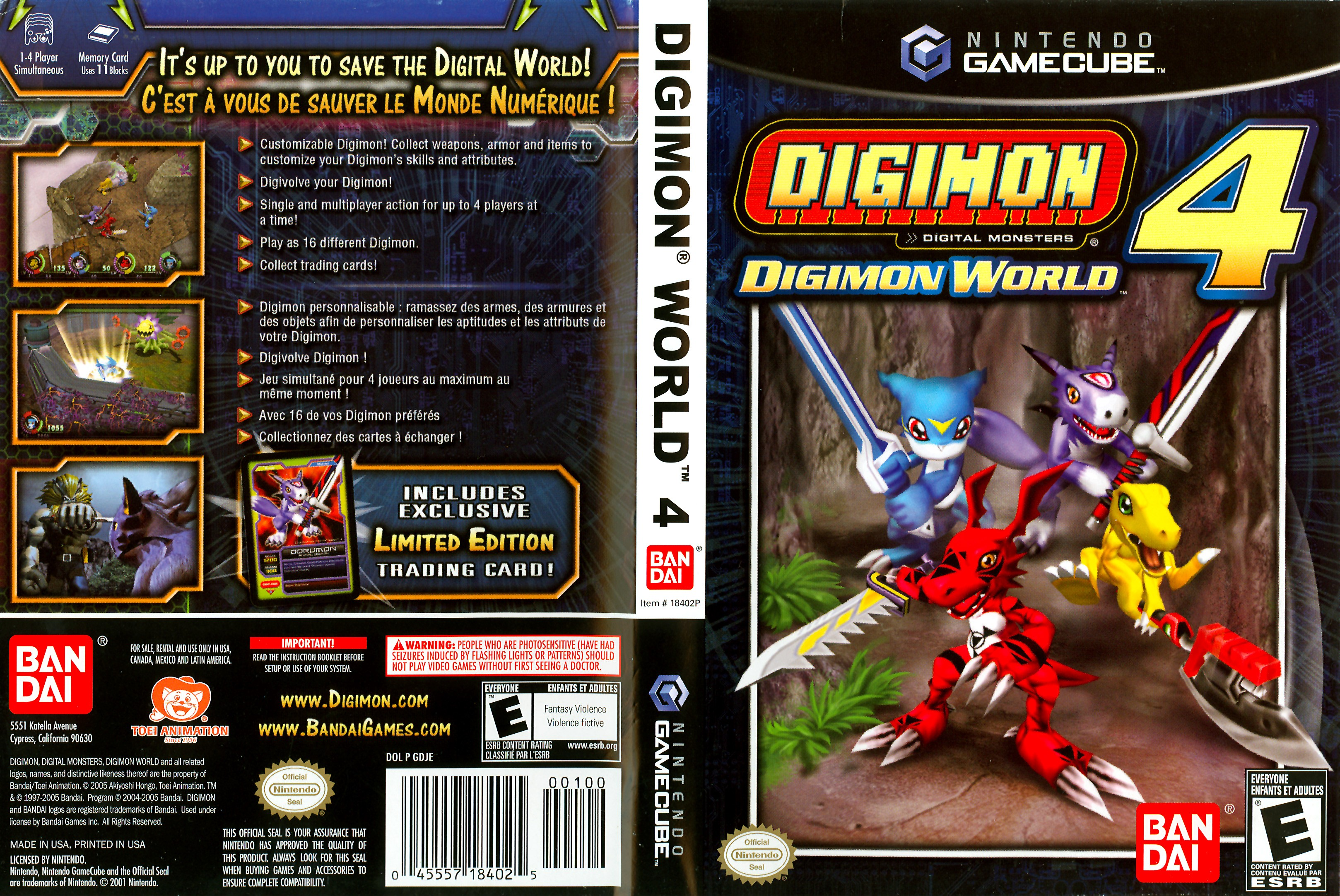 Digimon world 4 cover click for full size image
