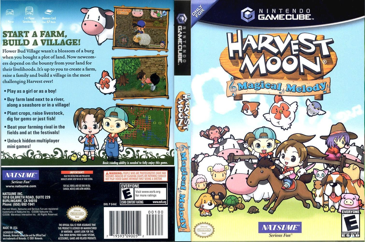 Harvest moon magical melody marriage bed