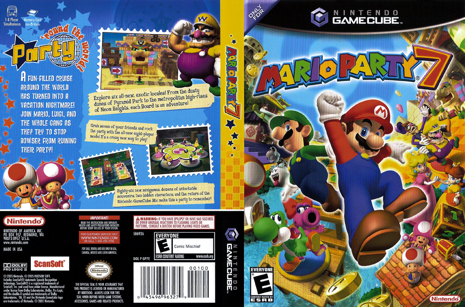 Screens Zimmer 6 angezeig: mario party 5 iso