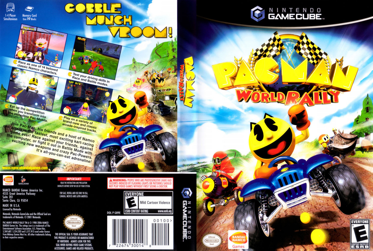 Pac man world rally gc iso: full version free software download -.