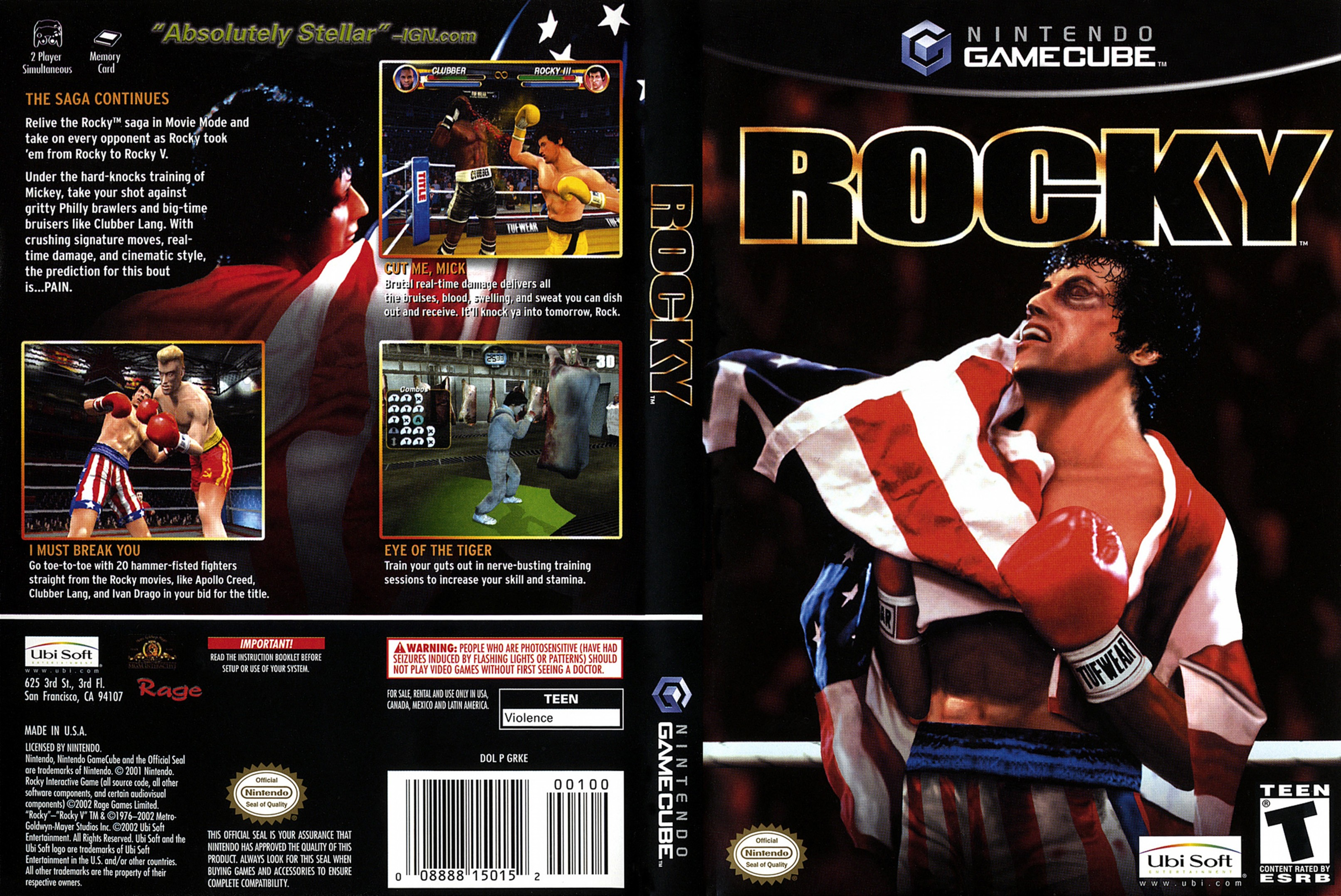 rocky game