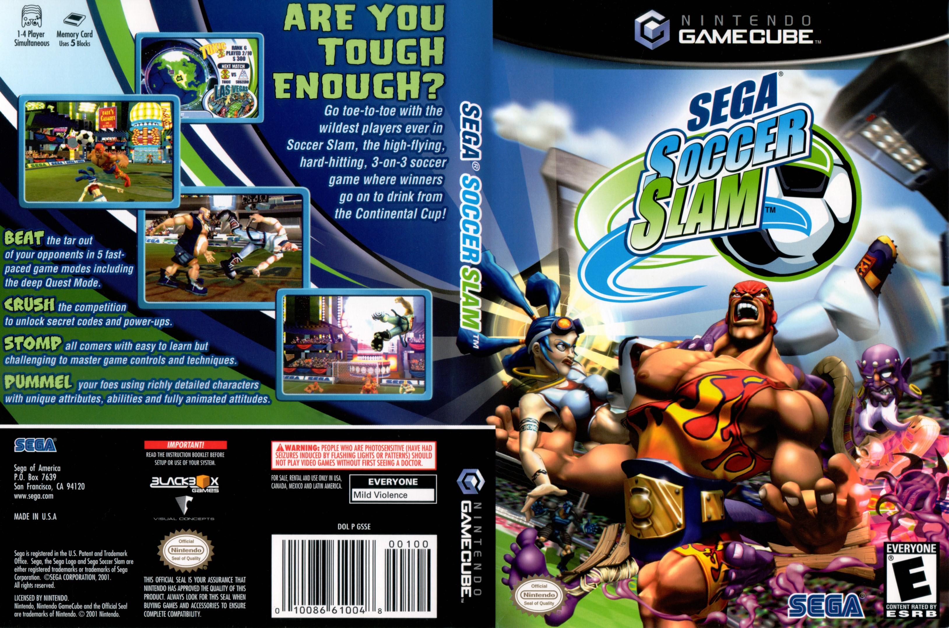 Sega Soccer Slam ISO