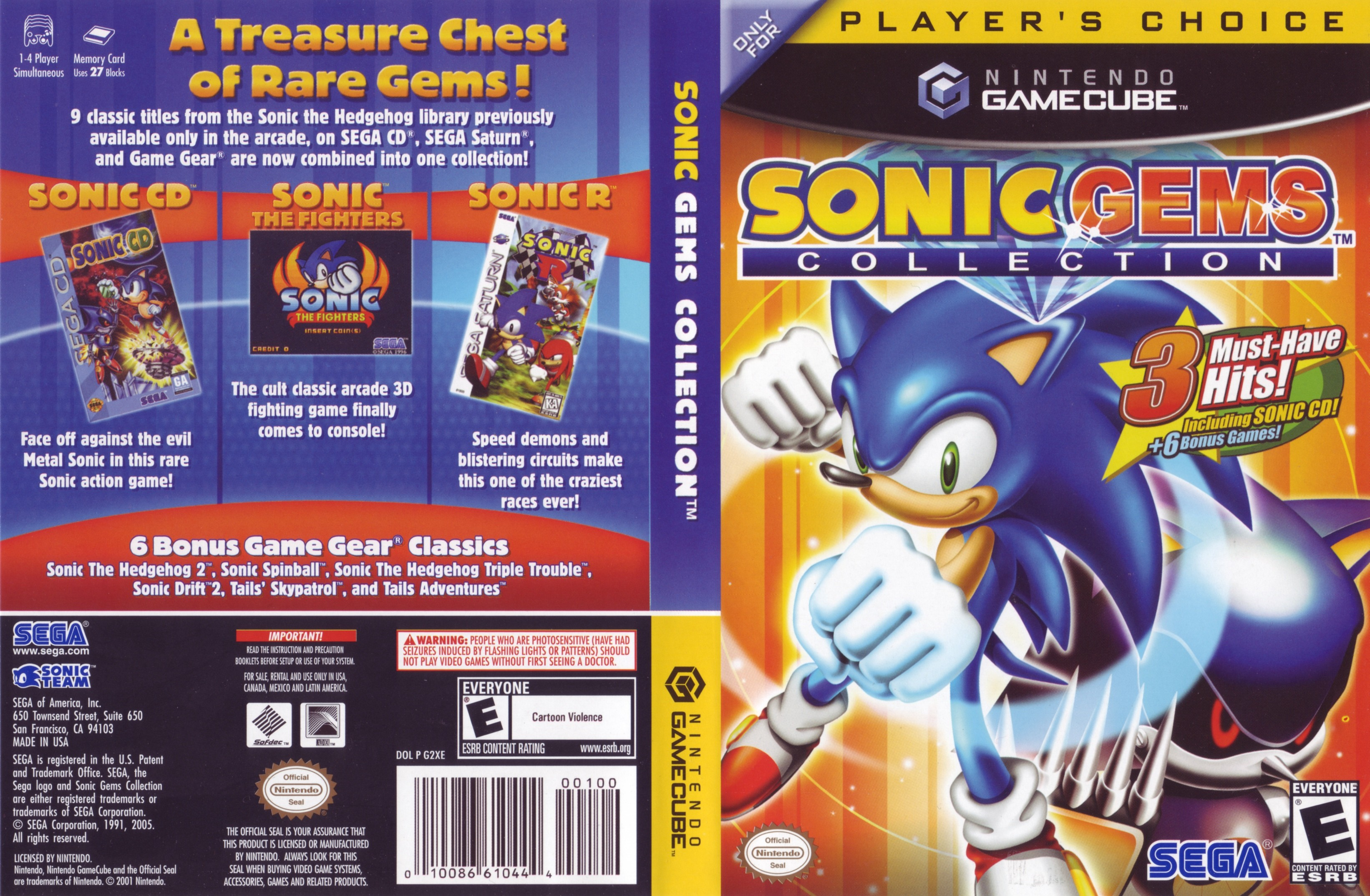 Sonic gems collection gc iso : postradoo