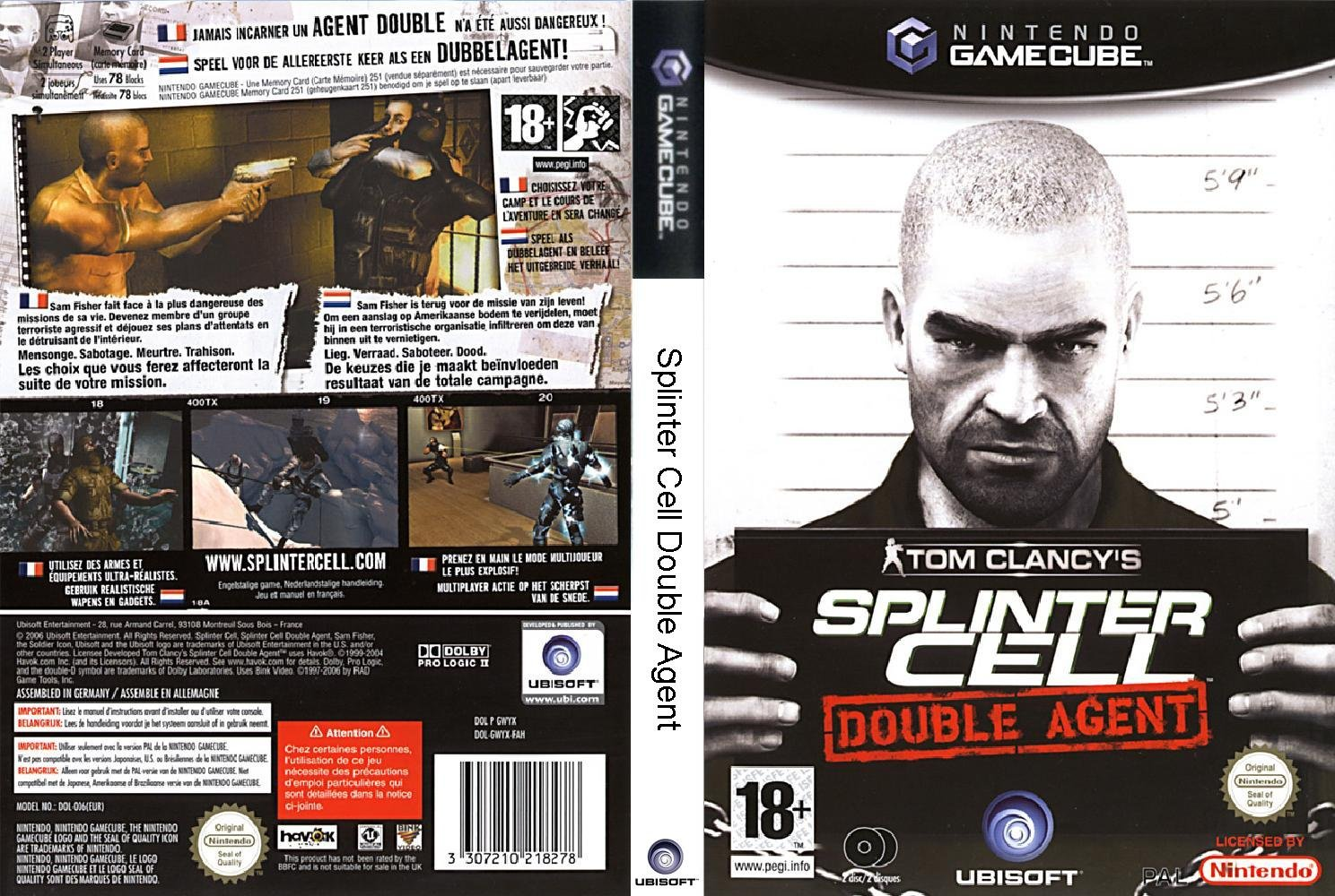 Splinter Cell Double Agent ISO < GCN ISOs | Emuparadise