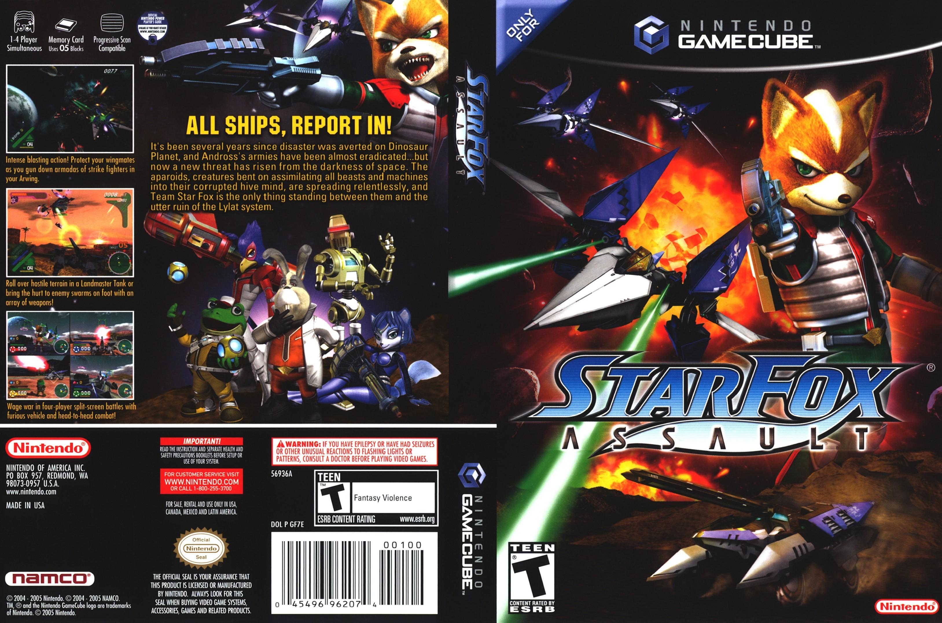 Star fox adventures (usa) nintendo gamecube / ngc iso download.