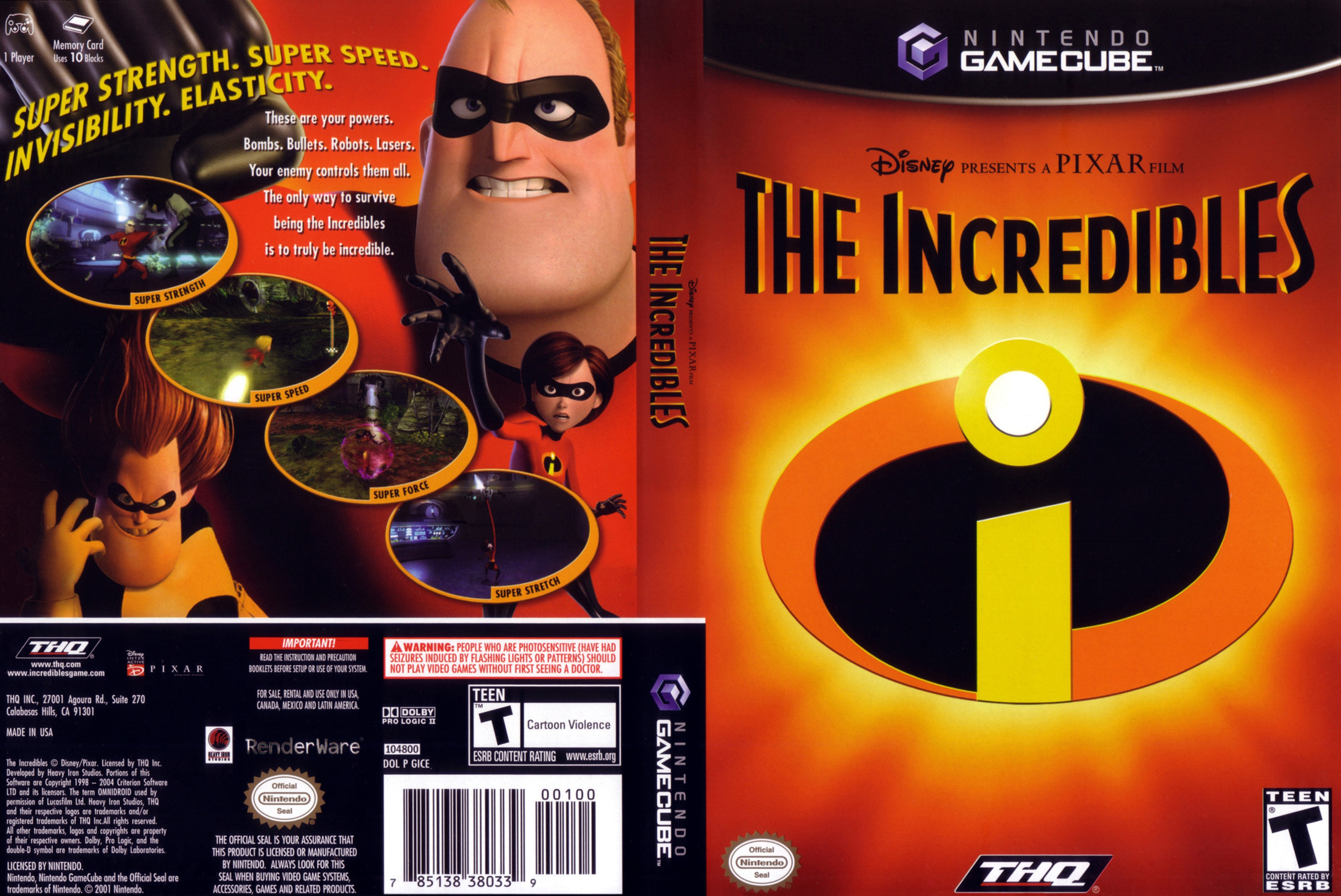 Incredibles Games