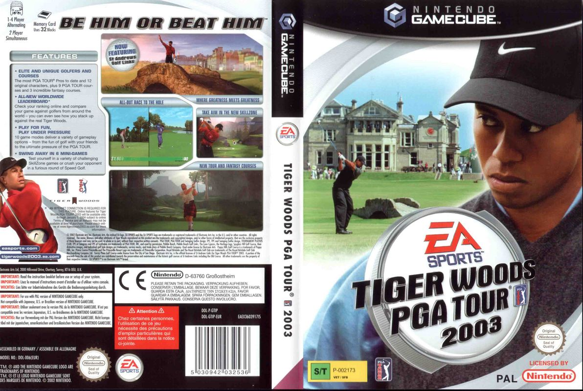 Tiger Woods Pga Tour  Gamecube