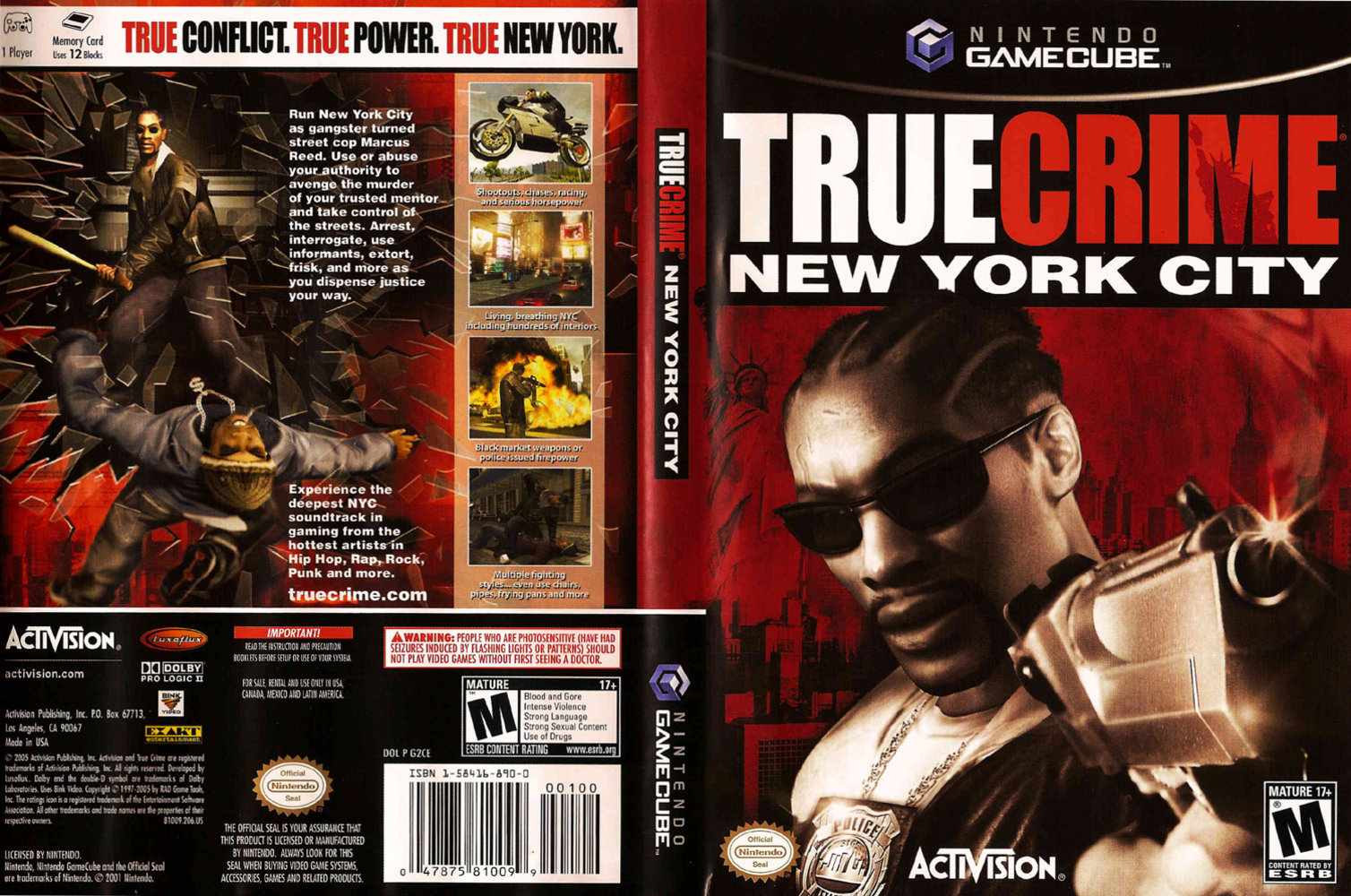 True crime new york city cover - click for full size image