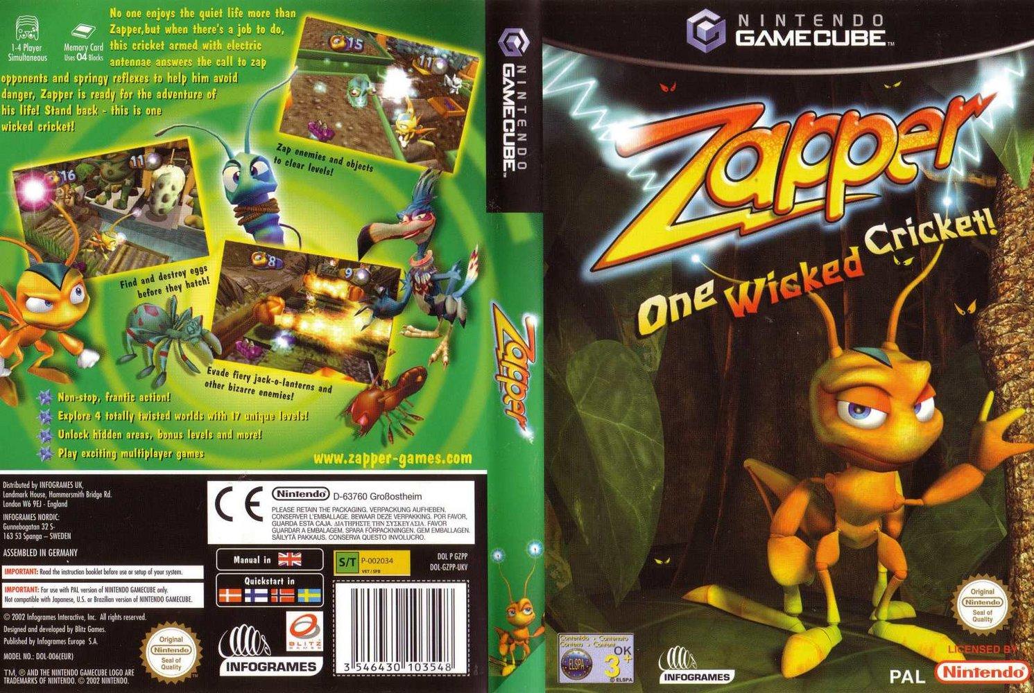 Zapper One Wicked Cricket Iso