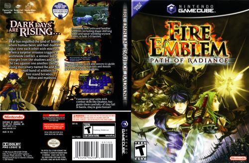 Fire Emblem Path Of Radiance Cover - Click for full size image