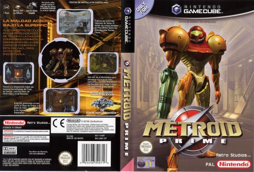 Metroid Prime Cover - Click for full size image