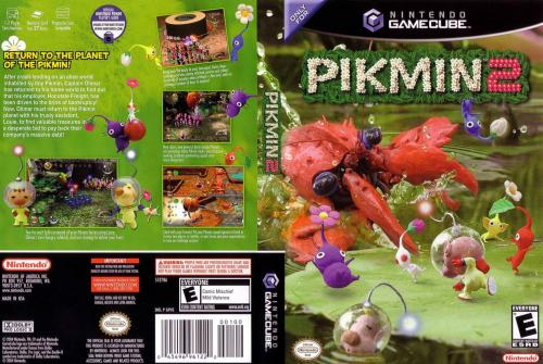Pikmin 2 Cover - Click for full size image