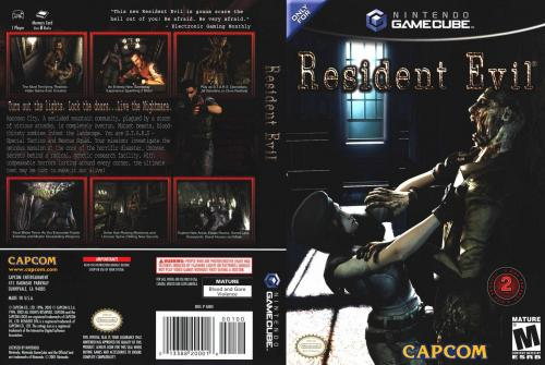 Resident Evil Cover - Click for full size image