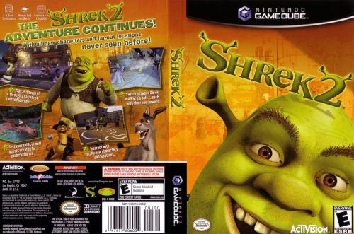 Shrek 2 Cover - Click for full size image