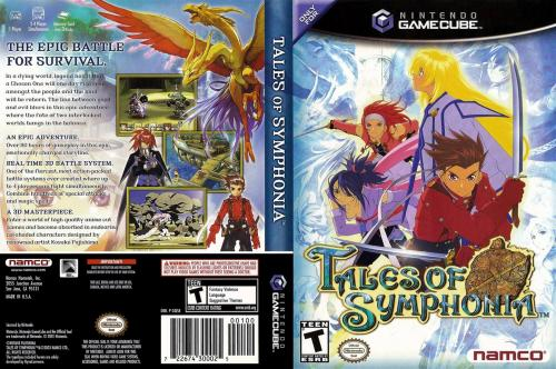 Tales Of Symphonia Cover - Click for full size image