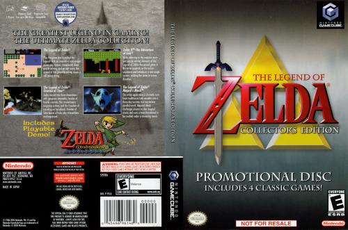 The Legend of Zelda Collector's Edition Cover - Click for full size image
