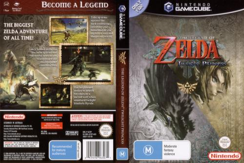 The Legend of Zelda Twilight Princess Cover - Click for full size image
