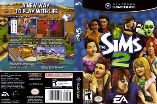 The Sims 2 Cover - Click for full size image