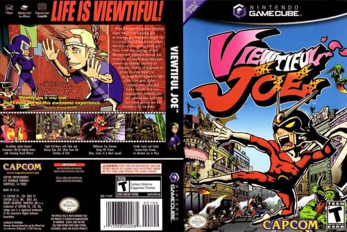 Viewtiful Joe Cover - Click for full size image