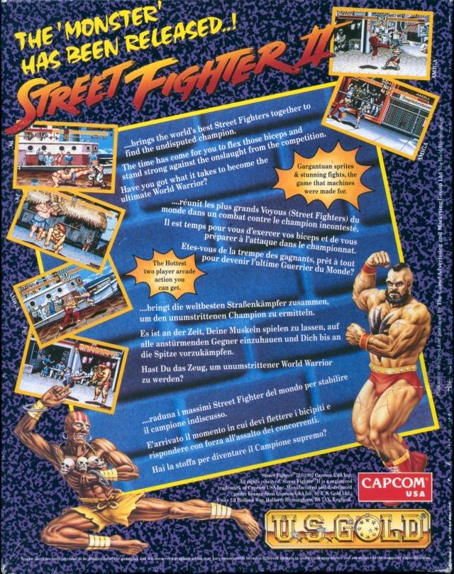 Street Fighter II - The World Warrior ROM < Amiga ROMs | Emuparadise