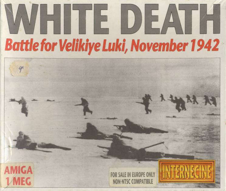 White Death Battle For Velikiye Luki November ROM Amiga - Velikiye luki map