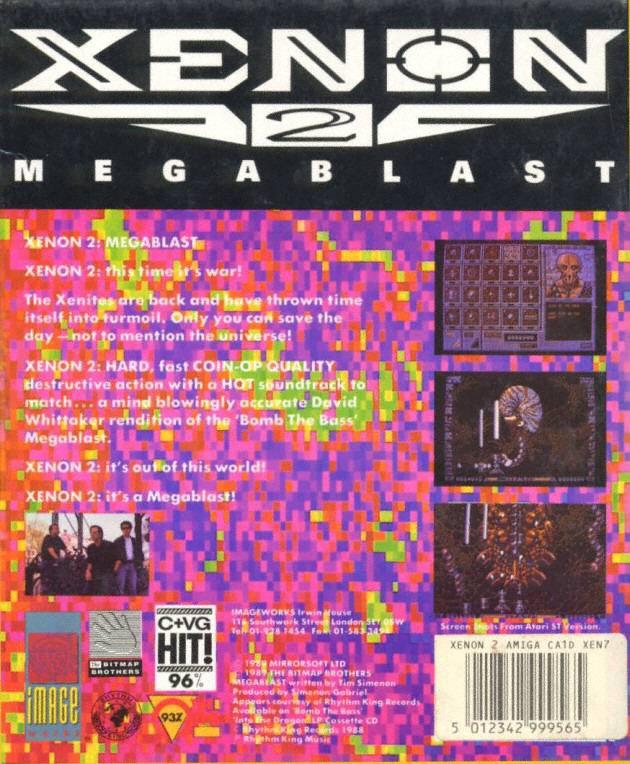 Xenon 2 - Megablast ROM