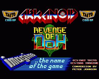 Arkanoid - Revenge of Doh ROM