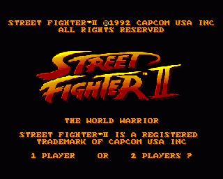 Street Fighter II - The World Warrior ROM