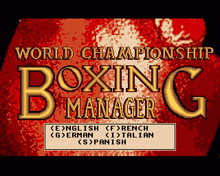 World Championship Boxing Manager ROM