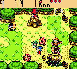 Legend of Zelda, The - Oracle of Seasons (USA) In game screenshot