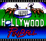 Hollywood Pinball (Europe) (En,Fr,De,It) Title Screen