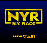 N.Y. Race (Europe) (En,Fr,De,Es,It,Pt) Title Screen