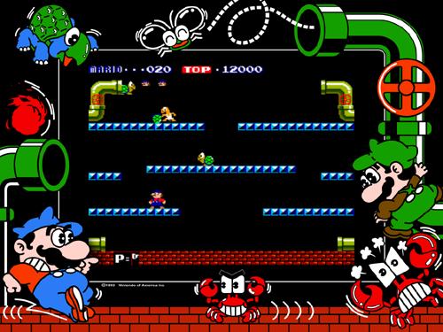 Mario Bros. (US... Atari 2600 Emulator Download