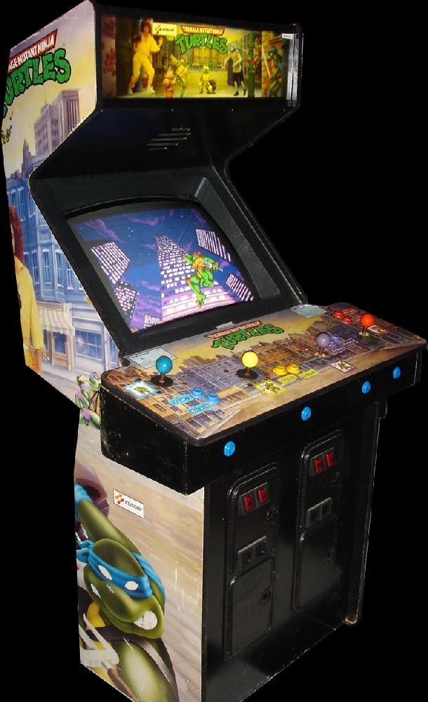 mutant turtles arcade machine