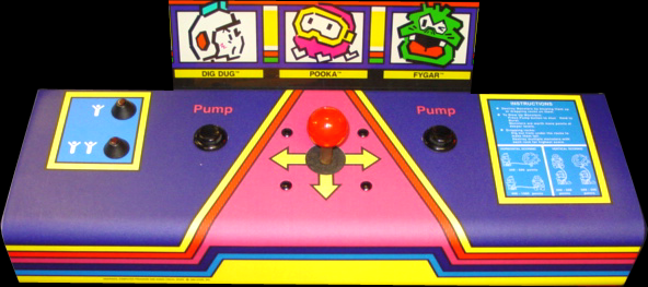 how to play dig dug