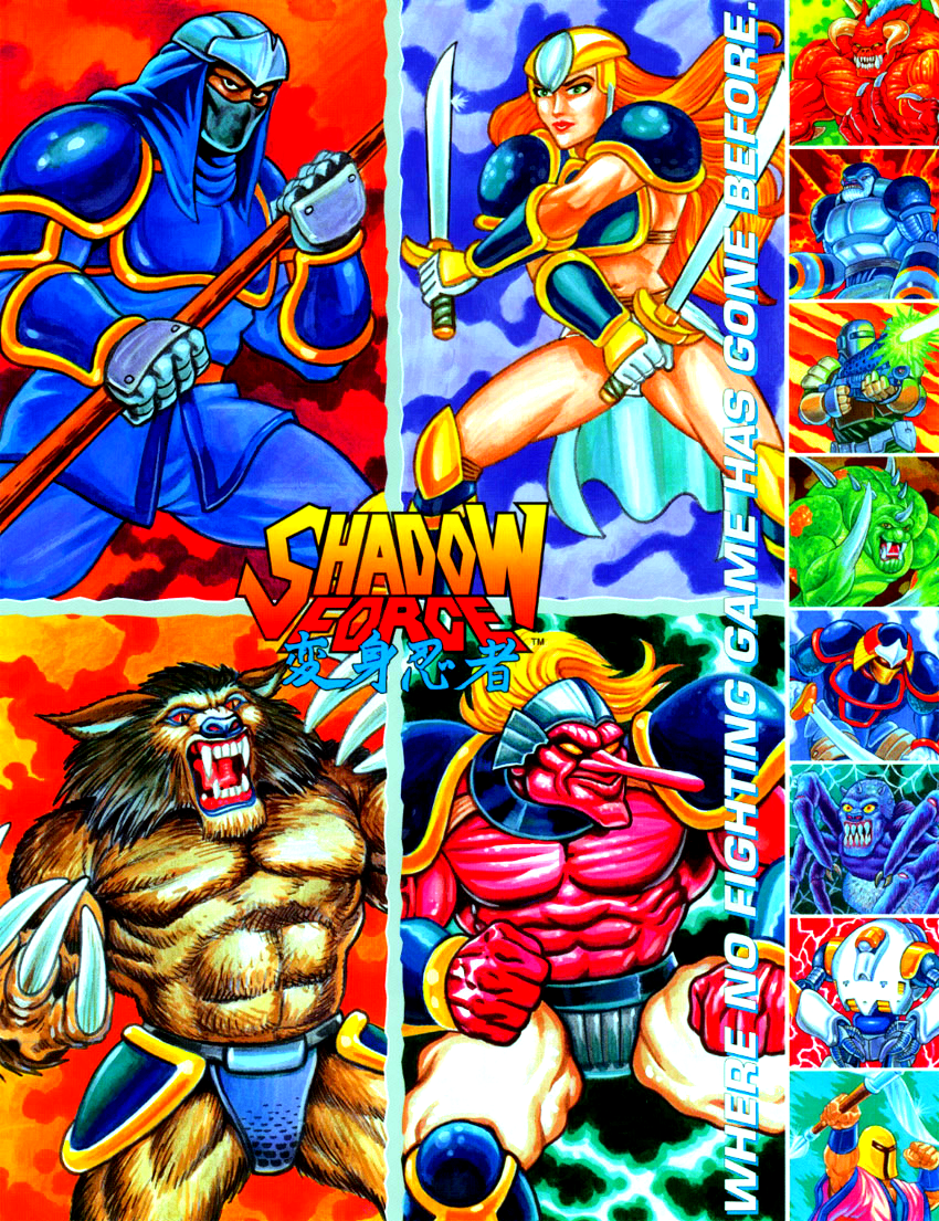 Shadow Force (Japan Version 3) ROM